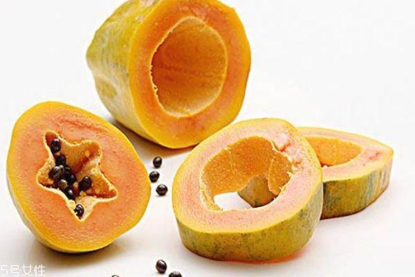 木瓜没熟吃了会怎么样 木瓜丰胸有科学依据吗