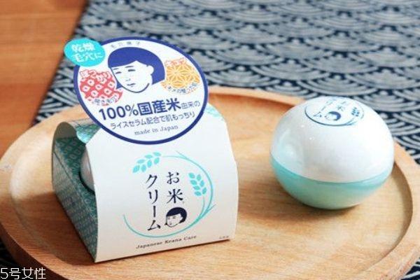 日本大米面霜适合什么肤质 大米面霜使用方法