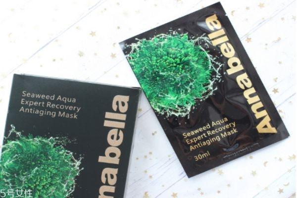 annabella海藻面膜黑金版怎么用 海藻面膜黑金版适合肤质