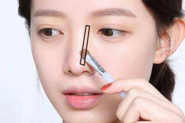 鼻子大鼻翼宽怎么化妆 教你大鼻怎么化妆