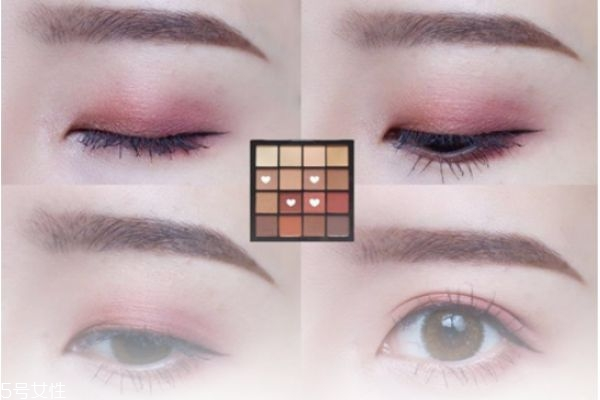 nyx16色眼影真假如何辨别 nyx16色眼影画法