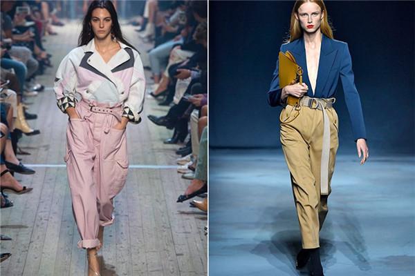 工装裤女搭配什么上衣 可酷可甜又舒适透气