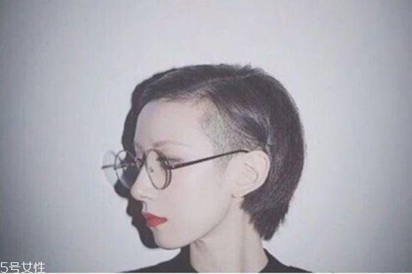 女生适合剪的男生发型 女生帅气短发发型