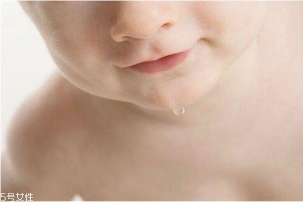 宝宝流口水的根治方法图片
