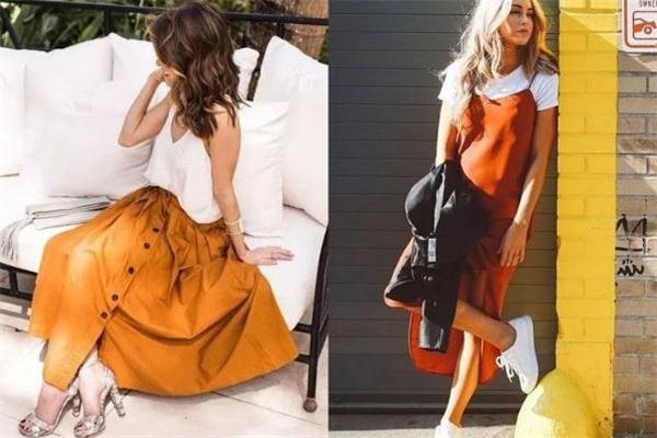 橘色配什么颜色好看 夏季橘色衣服搭配指南