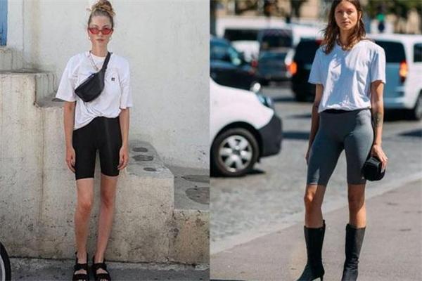 骑行裤怎么搭配 骑行裤搭配图片