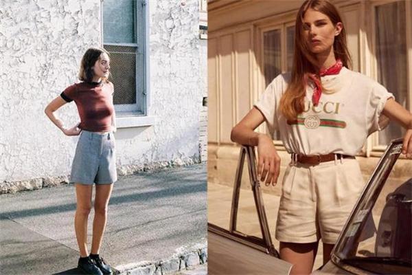 百慕大短裤怎么搭配 百慕大短裤搭配图片