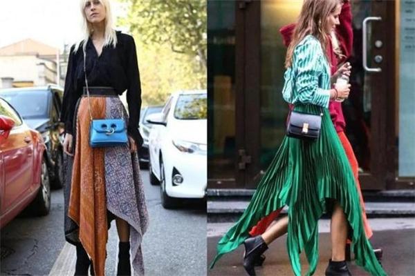 长裙怎么穿出高级感 跟时髦达人学穿搭