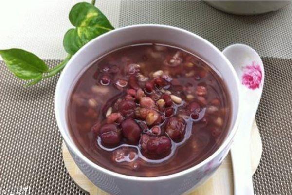 红豆薏米粥每天喝多少 喝红豆薏米粥拉肚子