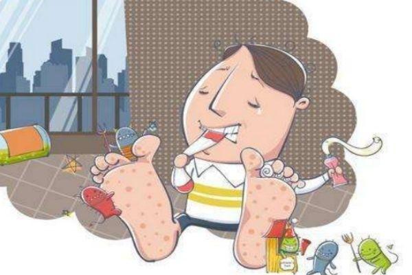 如何根除脚气 为什么容易得脚气呢