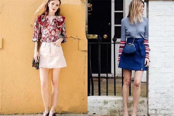 女生穿什么裙子显腿长 超显高裙子推荐