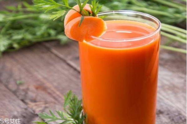 胡萝卜汁怎么做 胡萝卜汁的做法大全