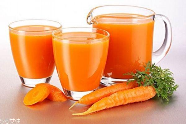 胡萝卜汁可以祛斑吗 胡萝卜汁祛斑喝多久开始有效