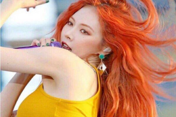 脏橘色头发显白吗 脏橘色发色适合素颜吗