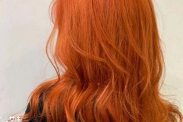 脏橘色需要漂吗 脏橘色头发要不要漂