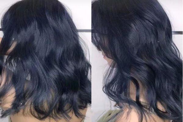 黄皮适合染蓝色头发吗 蓝黑色头发适合什么肤色