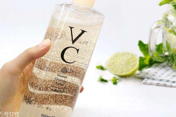 vc水用在哪个步骤 vc水能不能白天用