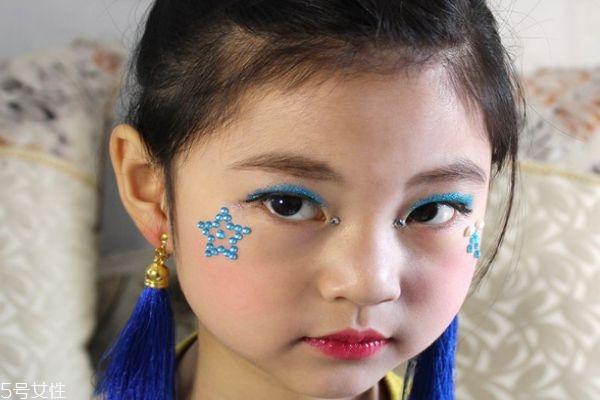儿童眼影的画法图解图片