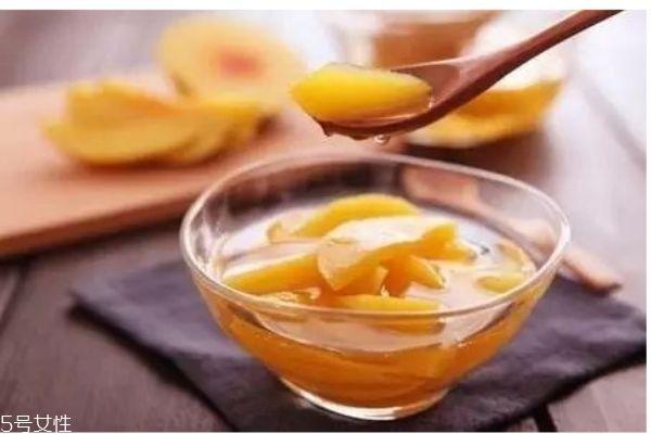 黄桃罐头怎么做的呢 黄桃罐头打开了可以放多久呢
