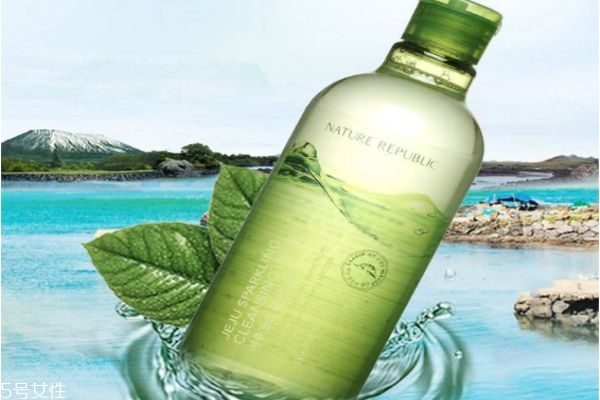 自然共和国济州碳酸卸妆水怎么样 自然共和国卸妆水
