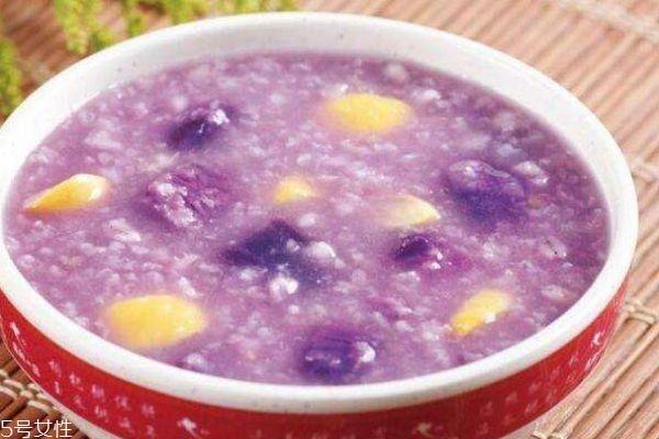 紫薯粥的营养价值有什么呢 怎么自作紫薯粥呢