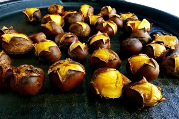 板栗可以和柿子一起吃吗 板栗和柿子一起吃的好处