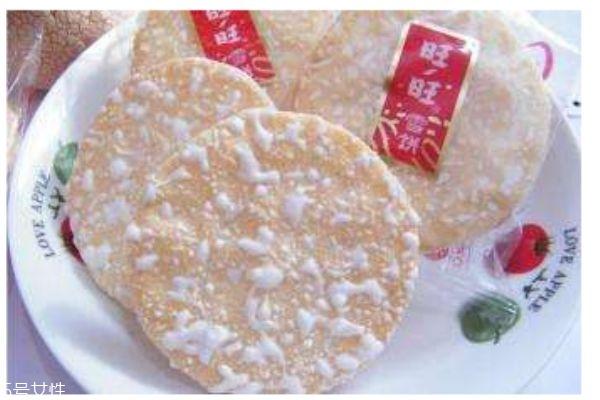 旺旺雪饼的热量有多少呢 旺旺雪饼的材料是什么呢