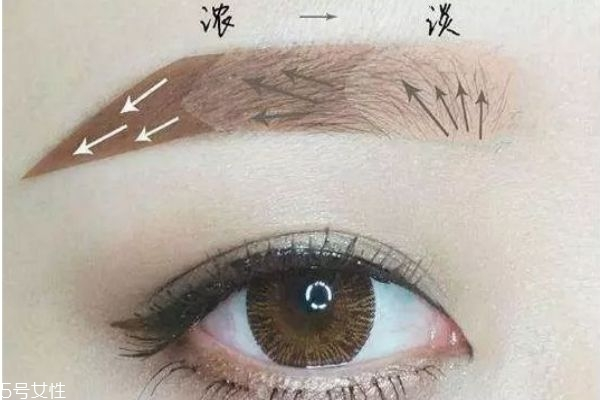 画眉毛应该是第几步呢 如何画眉好看呢