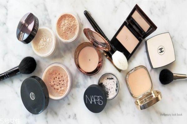 定妆粉的用法视频图片