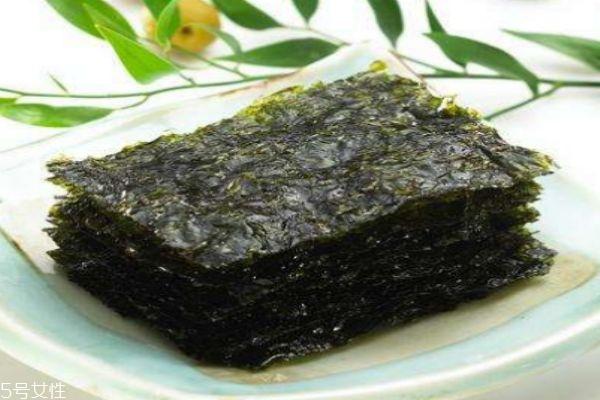 海苔有什么营养价值呢 孕妇可以吃海苔吗