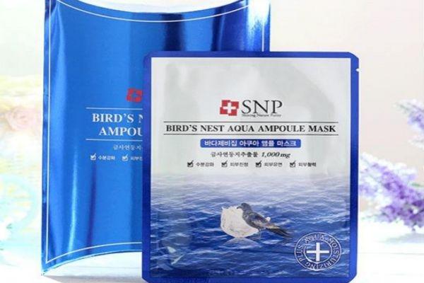 【美资】snp海洋燕窝水库面膜孕妇能用吗 孕妇能用燕窝面膜
