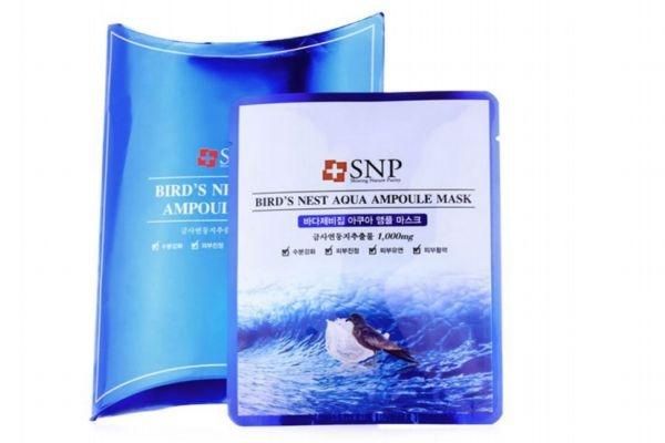 【美资】snp海洋燕窝水库面膜适合肤质 snp海洋燕窝水库面膜用法