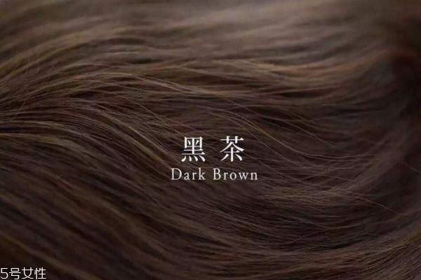 黑茶色是黑色吗 黑茶色和亚麻色有什么区别