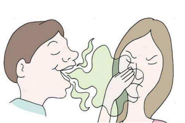 口臭吃什么食物好 什么原因导致口臭