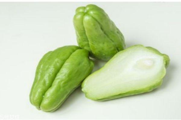 佛手瓜有什么营养价值呢 吃佛手瓜有什么好处呢