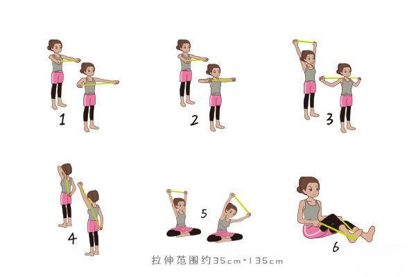 女士弹力带训练方法 弹力带背部训练方法