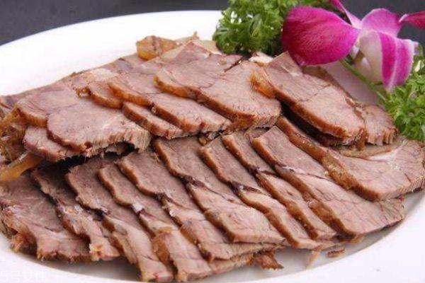 酱牛肉怎么切片图片