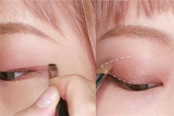 焦糖奶茶眼妆步骤怎么画