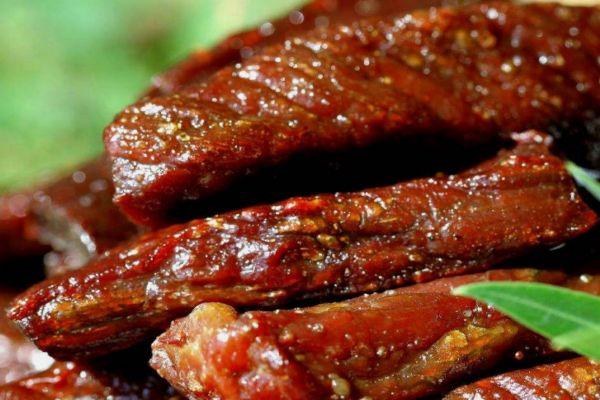 如何用微波炉烤牛肉干 微波炉牛肉干的做法