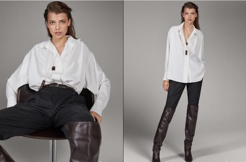 黑白色衣服搭配图片 白黑衣服怎么搭配