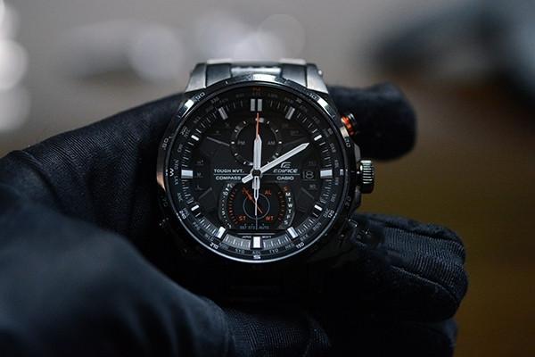 卡西欧男士机械手表 红色男士机械手表推荐 卡西欧红色针是什么