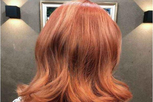 脏橘色头发怎么调配 脏橘色染发调色技巧