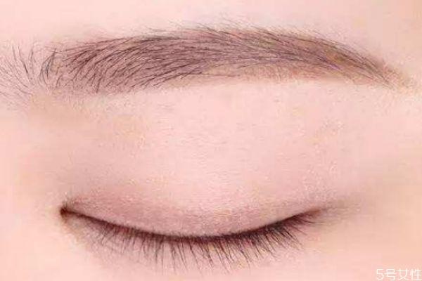 纹眉有几种眉形 纹眉后可以洗掉吗