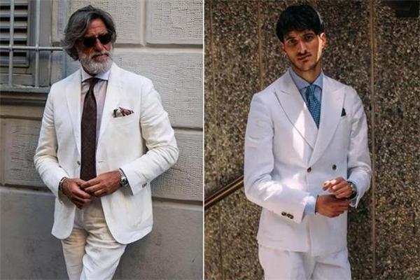 男生穿白色衣服好看吗 男生白色服装搭配图片
