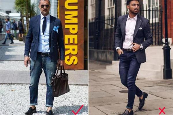 西装可以搭配牛仔裤吗 西装怎么搭配牛仔裤