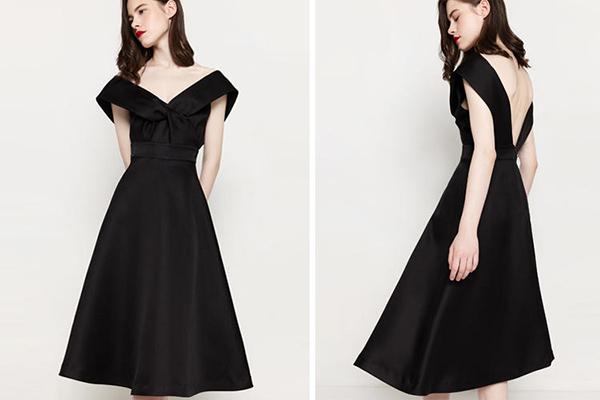 公司年会穿什么好 年会穿黑色礼服合适吗