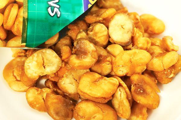 油炸蚕豆怎么做好吃 油炸蚕豆热量高吗