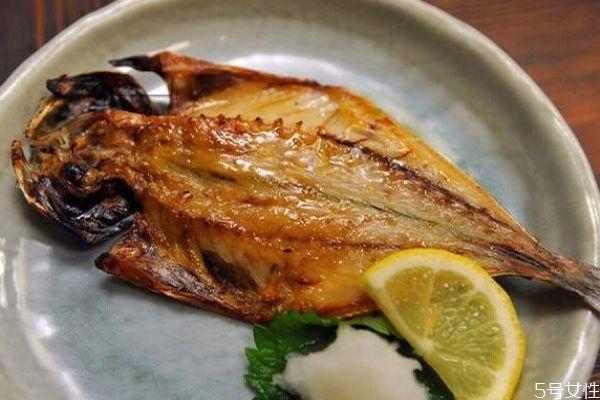 吃竹荚鱼有什么注意的呢 孕妇可以吃竹荚鱼吗