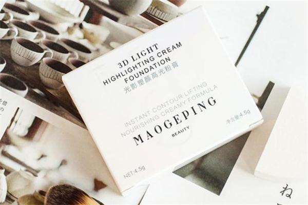 毛戈平高光粉膏可以全脸用吗-和粉底膏有什么区别