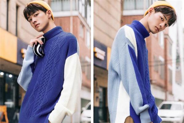 男生穿蓝色衣服好看吗 男生蓝色衣服搭配图片